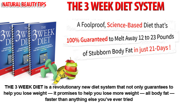 3 week diet plan weight loss guarantee