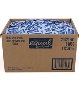 EQUAL 0 Calorie Sweetener, Aspartame Sugar Substitute