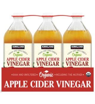 Kirkland Signature Organic Raw And Unfiltered Apple Cider Vinegar